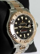 ROLEX Yacht Master 116621 40mm Black Dial Steel/18K Everose Gold Watch *NEW*