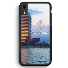 Keep Calm And Love Barcelona iPhone XR SILIKON Hülle Cover Spruch Schön Spani...