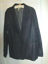 Covington Size 14 Blue Denim Blazer Unlined EUC
