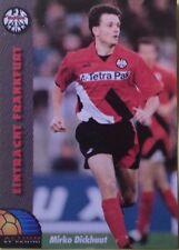 MIRKO DICKHAUT / EINTRACHT FRANKFURT / PANINI DOUBLE SIDED FOOTBALL CARD / 1994