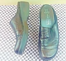 Mephisto Sz 8 Brown Leather Air-Relax, Women's Slip On Mule Clogs #S100
