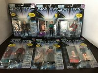 Vintage Star Trek The Next Generation 1995 Exclusive Skybox Playmates 6 Figures