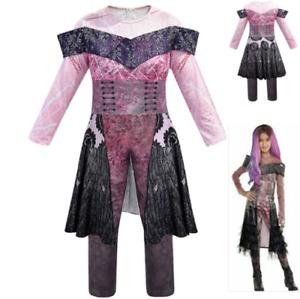 Halloween Descendants 3 Audrey Mal Costume Jumpsuit Fancy Dress Cosplay Outfit