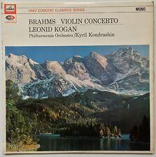 LEONID KOGAN KONDRASHIN BRAHMS Violin Concerto 1960 U.K. HMV XLP 30063 MONO VG++