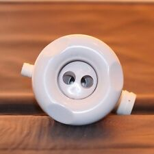 SPAQUIP 70MM PULSE JET IN WHITE ONLY FREE SHIPPING AUS METRO