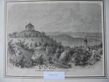 Original-Holzschnitte (1800-1899) aus Deutschland mit Landschaftsmotiven