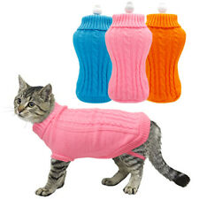 Winter Pet Clothes Puppy Cat Sweater Extra Small Kintted Jumper Chihuahua Yorkie