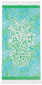 NWT  Lilly Pulitzer Beach Towel Home Slice Print 32 x 64