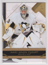 MARC-ANDRE FLEURY 2008-09 08-09 SP Game Used #6/100 Gold parallel #84 upper deck