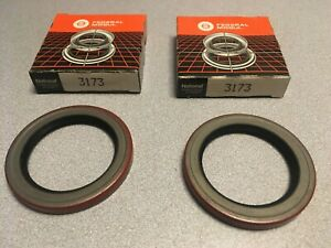 PAIR: National 3173 Transfer Case Input Shaft Seal fits Chevy GMC K1500 Jeep CJ7
