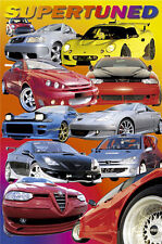 POSTER Supertuned Sports Cars