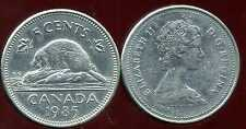 CANADA 5 cents  1985    ANM
