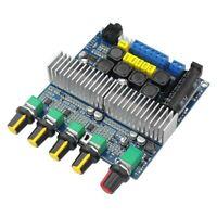 TPA3116D2 DC12V-24V Bluetooth 4.2 Subwoofer Amplificateur Audio Carte 2.1 C P4I3