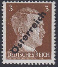 Österreich 1945  3 Pf. Aufdruck Nr. IV unverausgabt  ** Befund VÖB