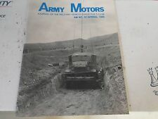 1-NOS Un-Issued Military Vehicle Preservation Association 1985 Army Motors # 32
