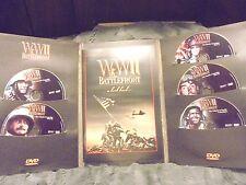 WWII Battlefront - DVD set of 5 - GREAT INFO ON HOLDER....B100