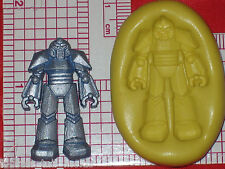 Transformers Silicone Mold Robot Food Mould A571 Cake Chocolate Resin Clay Fimo