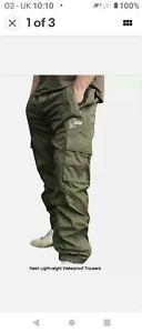 Nash Ex-DisplayWaterproof Trousers Size M