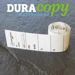20 x *NEW* GEOLoggers MICRO 1.5cm Geocaching Log Sheet DURACopy WATERPROOF!