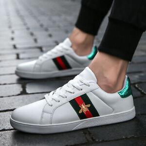 New Fashion Men Lightweight Casual Sport Shoes Running Walking Platform Sneakers
