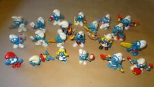 Smurf lot of 21 Smurfs Instant Collection Vintage Classic Display Figurines