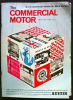COMMERCIAL MOTOR MAGAZINE 7 MAY 1965 - AUSTIN, LEYLAND BONNETED SUPER COMET TEST