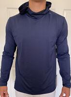 Lululemon Men Size XXL After The Wave Hoodie Blue DNVY Pullover Lghtweight Xstnk