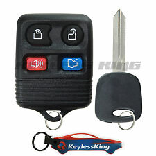 Replacement Remote Key Fob Keyless Entry Set for 2000-2005 Ford Focus
