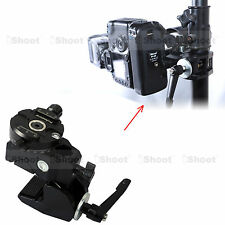 Strong Crab Clamp + Panorama Panning Ball Head for Camera + Flash Holder Bracket