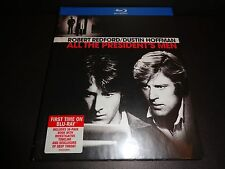 ALL THE PRESIDENT'S MEN w/36 page book-ROBERT REDFORD, DUSTIN HOFFMAN-Watergate