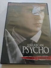American Psycho Dvd Uncut Killer Collector's Edition Christian Bale Sealed