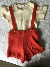 Vintage 1940'S Baby 2-piece outfit 18 months-2 years boys
