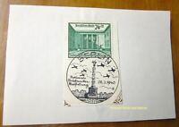 EBS Germany 1940 Stamp Show Briefmarkenausstellung Michel 743 FD Ersttag cv $322