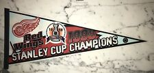 DETROIT REDWINGS 1998 STANLEY CUP CHAMPS PENNANT