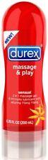 Durex Massage and Play 2 n 1,  Sensual 6.76 oz.
