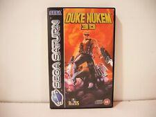 Duke Nukem 3D SEGA Saturn Pal Euro