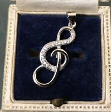 Women's Silver Pendant 'MUSIC NOTE' Quality Stamped