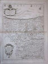 1692 FIANDRA Coronelli Vlaanderen Flandre Dunkerque Gravelines Ypres Lille Douai
