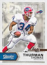 2016 Panini Classics Glossy #115 Thurman Thomas - Buffalo Bills
