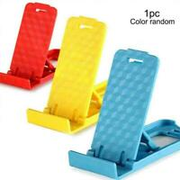 Lovely Universal Foldable Mini Cell Phone Desk Stand Holder Samsung For iPh A5H5