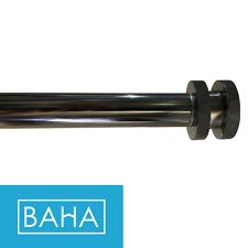 Extendable Curtain Rod Set 220cm to 400cm  - 25/28mm - Sorrento End Caps