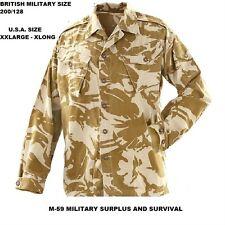 British Military Desert Top / British Size 200 X128cm = U.S.Size XXL- LONG -NEW
