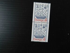 "SWEDEN - 1979  "" WALL HANGINGS  Single in 1 Pair "" U/Mint. SG.993."