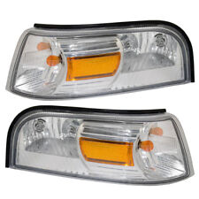 Pair Park Signal Lights fit 06-11 Mercury Grand Marquis Side Marker Lamps Set