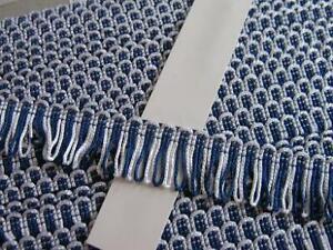 20,95 m Wimpelfranse - 28 mm - blau weiss