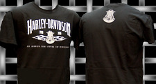 HARLEY DAVIDSON  POLICE 100TH ANNIVERSARY RETRO  SHIRT  (L) NEW HARLEY  SHIRT