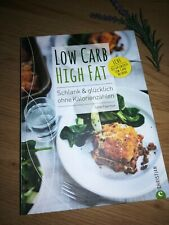 Kochbuch LOW CARB HIGH FAT - LCHF - Jane Faerber *wie NEU*, Christian Verlag