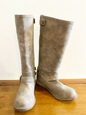 Nine West Motol1 Women Round Toe Synthetic Knee High Riding Boots Size 6 M