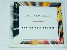 LED ZEPPELIN How the West Was Won Promo CD-5 Limited Edition Digipak Fold Out