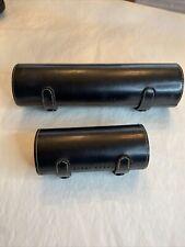 Black Cylinder Bobbi Brown Makeup Brush Case- No Brushes / Case Only 2 Lg & Sm